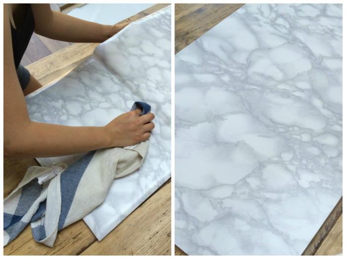 Diy Gold And Faux Marble Coffee Table Ikea Hack
